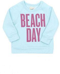 | Peek 'Beach Day' Crewneck Sweatshirt |
