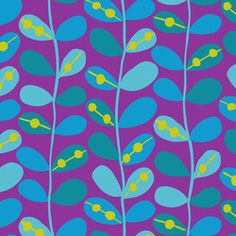 Andover Fabrics Flower Doodle Flower Doodle A-5794-P by Kim Schaefer