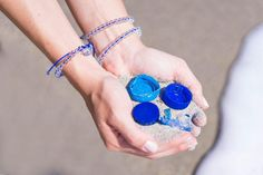 Happy International Coastal Cleanup Day! Help save our oceans when you shop 4ocean bracelets on EarthHero – each one removes 1lb of trash from our seas!  - @4ocean #4Ocean #ShopEarthHero #InternationalCoastalCleanupDay Recycled Glass Bottles, Recycle Plastic Bottles, Clean Up Day, Ocean Cleanup, River Mouth, Clean Ocean, Marine Debris, Pick Up Trash, Save Our Oceans