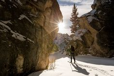Postcard Perfect: Skiing the Hoodoos