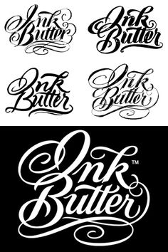 Inspiring Examples of Custom Lettering Logo Designs from blog.spoongraphics