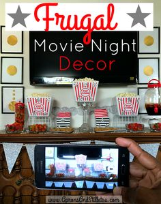 Themed Parties, Party Themes, Movie Decor, Amazing Crafts, Party Entertainment, Frugal Living, Aprons, Tablescapes, Entertaining