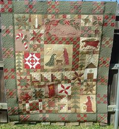 FOREVER CHRISTMAS QUILT - Created by Veda Wilhite - quilted by DLQ by DLQuilts, via Flickr