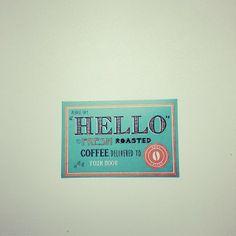 """Taken by weareyart on Instagram - """"Hello #pactcoffee"""""""