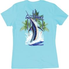 Guy Harvey Women's Palm Tree Splash T-Shirt | DICK'S Sporting Goods