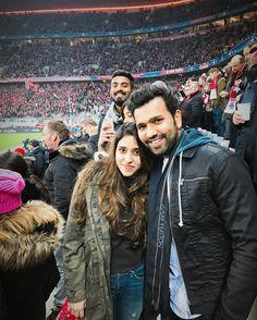 Rohit Sharma and Ritika Sajdeh World Cricket, Cricket Bat, Kapil Dev, Ms Dhoni Wallpapers, Ms Dhoni Photos, Full Hd Pictures, Cricket Wallpapers, Football Love, Mumbai Indians