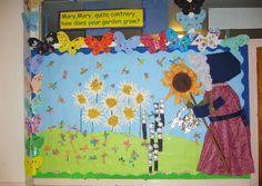 Mary Mary, quite contrary classroom display photo - Photo gallery - SparkleBox