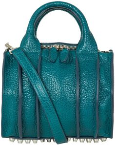 Love this  ALEXANDER WANG Turquoise Inside Out Rockie Bag  Lyst Versace  Handbags, Hobo 5f241684bb