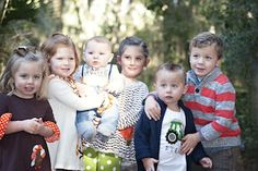 Michelle's passel of grandchildren!