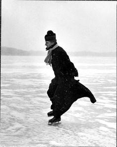 size: Photographic Print: Catholic Priest Ice Skating Poster by John Dominis : Religion Catholic Priest, Catholic Saints, Roman Catholic, Catholic Art, Men In Black, St John Bosco, Catholic Gentleman, Catholic Quotes, Saint Quotes