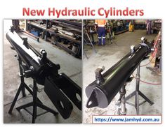 Custom built - designed and manufactured by Jam Hydraulics. Hydraulic Cylinder, Telescope, Melbourne
