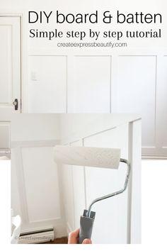 Easy Diy Projects, Home Projects, Farm Projects, Diy Interior, Interior Design Tips, Home Decor Hacks, Diy Home Decor, Wall Decor Crafts, Headboard Decor