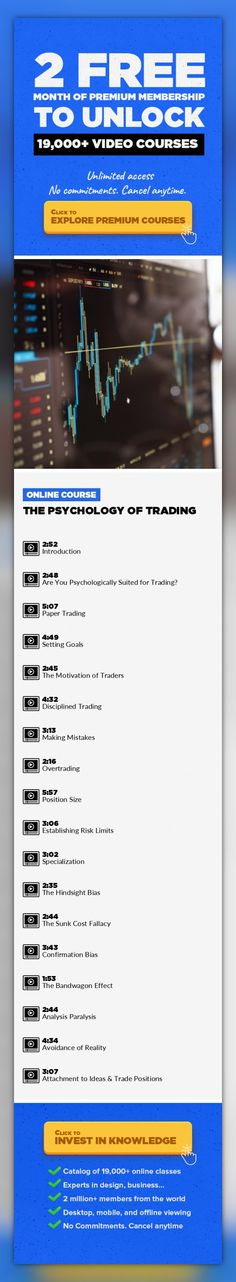 The Psychology of Trading Entrepreneurship, Business, Finance, Investing, Stock Market, Forex, Trading, Options #onlinecourses #CoursesDrawing #onlineclassestips    If you have ever wanted to have an edge in trading, one that gives you knowledge, skills, and tools that most others lack, then this book is for you. Because in order to be successful at trading in the financial markets, you need more ...