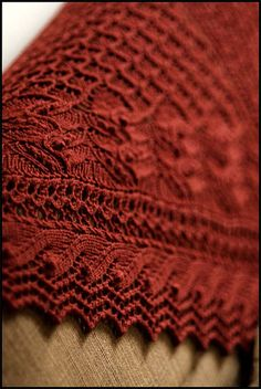 Brooklyn Tweed shawl