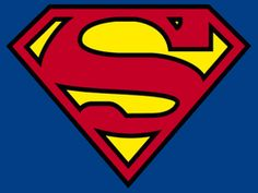 Superman logo Pattern (print for cut out)