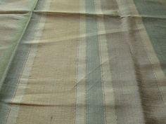 Custom Silk Blend Drapes in Aqua/ Peach / Light by lushlivings