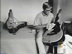 Young John Denver with his 12-string guitar.  --SGS