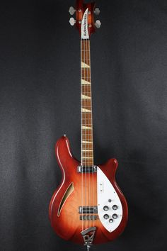 Fantastic condition 1968 Rickenbacker 4005 in stunning, unfaded Fireglo finish. This bad boy plays and sounds fantastic. The neck is straight with a very slight relief and truss rods do not appear to be overtightened. There is still plenty of life left on the original frets. The electronics ar...
