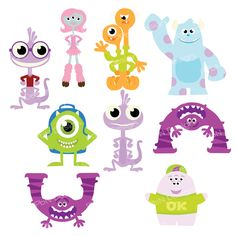 PPbN Designs - Monsters University Member Exclusive Set     , $0.00 (http://www.ppbndesigns.com/products/monsters-university-member-exclusive-set.html)