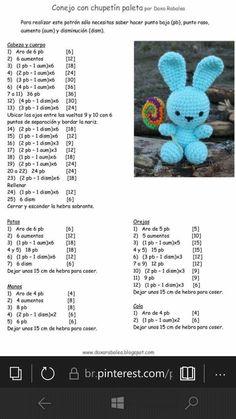 Diy Crafts - Mesmerizing Crochet an Amigurumi Rabbit Ideas. Lovely Crochet an Amigurumi Rabbit Ideas. Crochet Teddy Bear Pattern, Easter Crochet Patterns, Crochet Baby Toys, Crochet Rabbit, Crochet Amigurumi Free Patterns, Cute Crochet, Crochet Dolls, Diy Crafts Crochet, Kawaii Bunny