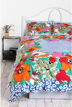 Floral Dot Scarf Duvet Cover. Pretty, but I don't think @Patrick Guditus would go for it.