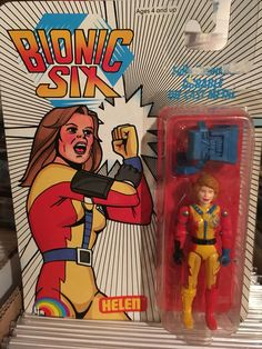 This is Helen Bennett (aka: Mother-1) from the Bionic Six line of toys and action figures from LJN. These are part of my personal toy collection.