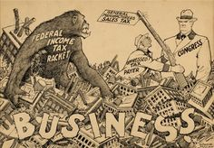 Winsor McCay - Editorial Cartoon Original Art by Winsor McCay