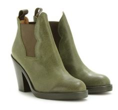 Green, Military and Ankle boots on Pinterest
