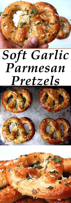 These soft pretzels are a great addition to any meal or you can just eat them for a snack!