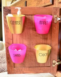 We have a collection of 19 DIY bathroom storage ideas and makeover tips. See how to make beautiful and useful improvements to your bathroom. Clever Bathroom Storage, Under Sink Storage, Small Bathroom Organization, Simple Bathroom, Bathroom Ideas, Bathtub Ideas, Vanity Organization, Bathroom Inspiration, Master Bathroom