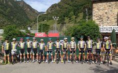 Luis Enrique 'rinde homenaje' a Purito: 138 kilómetros en bici por Andorra
