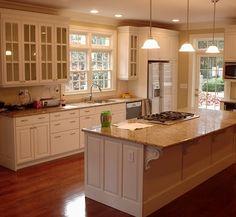 Cocinas Modernas | Cocinas Integrales Modernas Y Si Integración A Una  Cocina Del Hogar: · Kitchen Cabinet DesignWhite ...