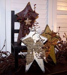 have some wood stars i could dec similar to this