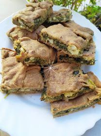 Greek Recipes, Fish Recipes, Gluten Free Cakes, Spanakopita, Sandwiches, Pork, Food And Drink, Pizza, Cooking Recipes