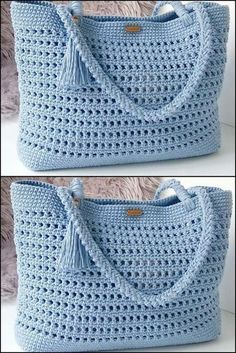 (Video) Tap the image to learn crochet pas . - (Vídeo) Toque na imagem para aprender crochê pas… – (Video) Tap the image to learn crochet pas … – - Crochet Purse Patterns, Bag Crochet, Crochet Handbags, Crochet Purses, Crochet Clothes, Sewing Patterns, Crochet Summer, Crochet Ideas, Crochet Projects