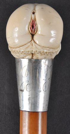 Image result for erotic walking cane handles