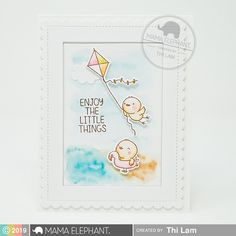 mama elephant | Stamp Highlight: BEACH CHICKIES