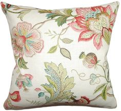 """The Pillow Collection 18\"""" Rosa Pillow,Multi  http://api.shopstyle.com/action/apiVisitRetailer?id=485314255&pid=uid84-31725922-10"""