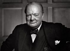 """""""A pessimist sees the difficulty in every opportunity; an optimist sees the opportunity in every difficulty."""" – Winston Churchill Portrait of Winston Churchill by Yousuf Karsh Winston Churchill, Churchill Frases, Great Comebacks, Leadership Lessons, Leadership Quotes, Best Speeches, Public Speaking, Body Language, Dieselpunk"""