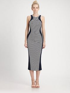 This dress creates crazy hourglass curves! Torn - Shiran Dress - Saks.com