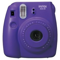 Fujifilm Instax Mini 8 Camera - Purple I just got this camera in the mail along with the film and I was so unbelievably happy!