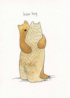 bear hugs...