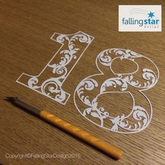 Falling Star Design by FallingStarCuts Falling Stars, Papercutting, Star Designs, Hand Drawn, Art Drawings, How To Draw Hands, 18th, Hand Painted, Facebook