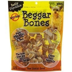 Savory Prime 21-Pack Beggar Bone, Mini ~~ You could find out more details at the link of the image. (This is an affiliate link and I receive a commission for the sales)
