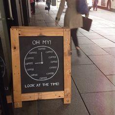 It´s always coffee o'clock! #coffeeholics #coffee #café #amantesdelcafé.