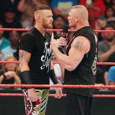 Brock Lesnar nimmt Heath Slater mit nach Suplex City: Fotos