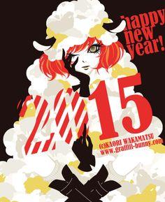 Happy New Year 2015! by Kaori Wakamatsu