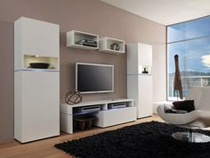 Amsterdam Combination-11183 Modern Wall Unit by Creative Furniture