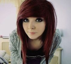 Emo Hairstyles Enchanting Emo Hairstyles For Girls  Latest Popular Emo Girls' Haircuts