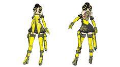 anarchy_reigns_2_fei_rin_concept Platinum Games, Video Game Art, Anarchy, Cute Cartoon, Reign, Cyberpunk, Fashion Art, Sci Fi, Character Design